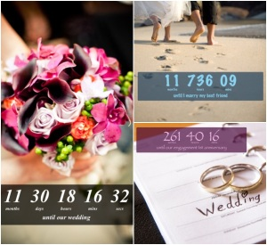 Wedding countdown app