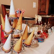 Ice Cream Bar at Weddings